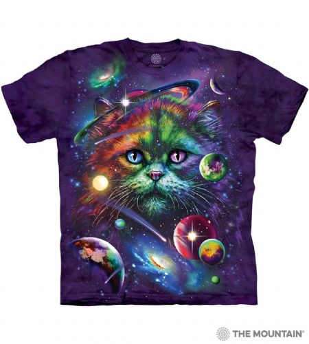 Cosmic Cat T-shirt | The Mountain®